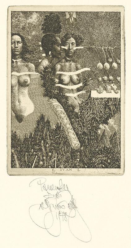 Albín Brunovský – Ex libris Ivan Panenka