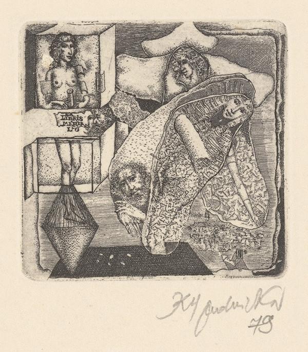 Karol Ondreička - Ex libris Mária