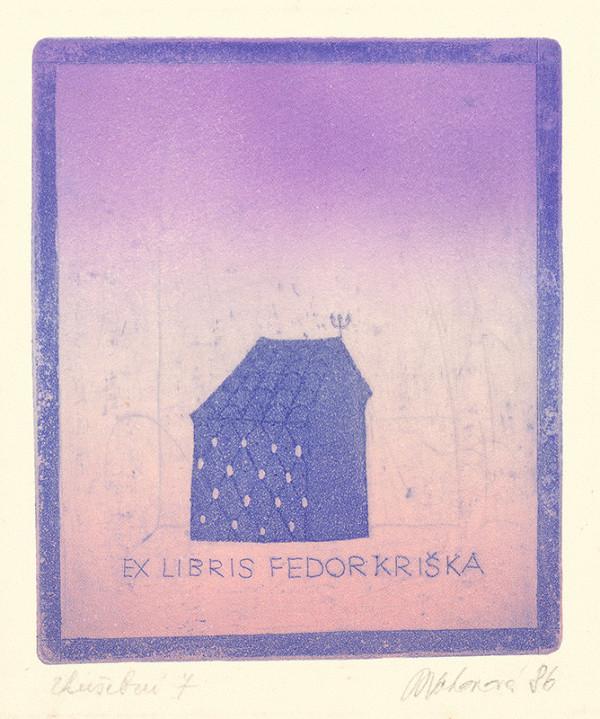 Blanka Votavová – Ex libris Fedor Kriška