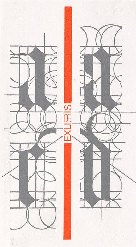 Róbert Brož – Ex libris D,B,R,L