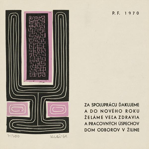 Fero Kráľ – P.F. 1970 II.