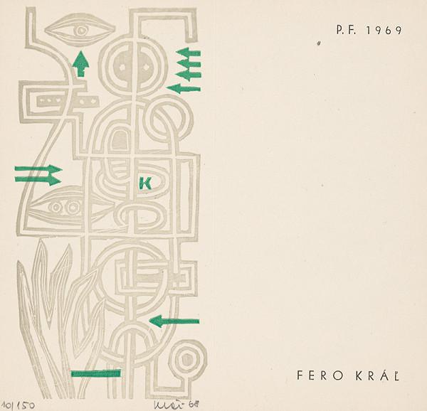 Fero Kráľ - PF 1969 Fero Kráľ