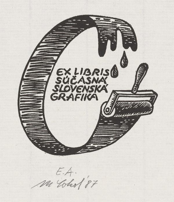 Milan Sokol – Ex libris Súčasná slovenská grafika