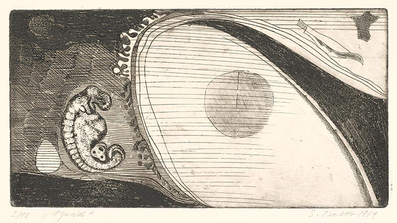 Stanislav Balko – Vpád, 1969, Stredoslovenská galéria