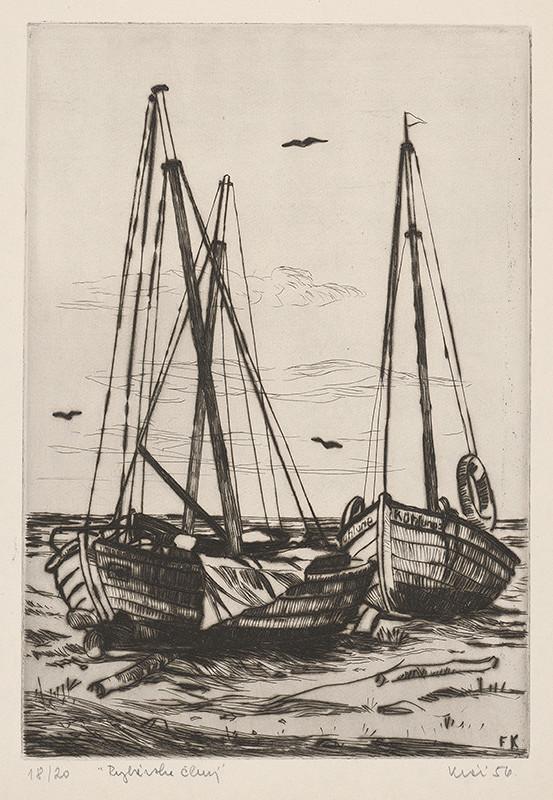 Fero Kráľ – Rybárske člny