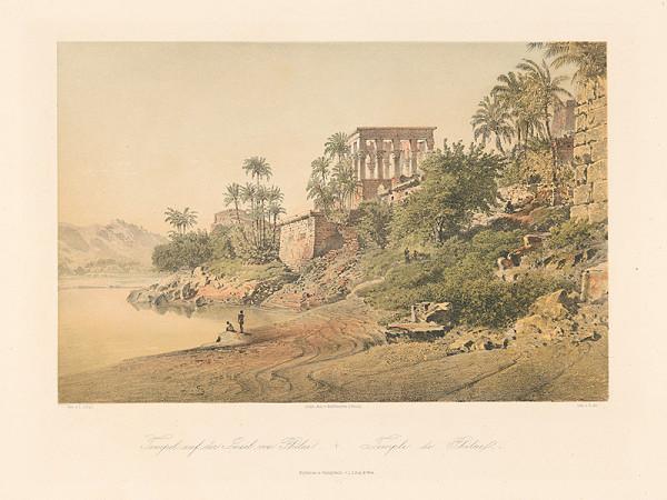 Karol Ľudovít Libay – Chrám na ostrove Philae