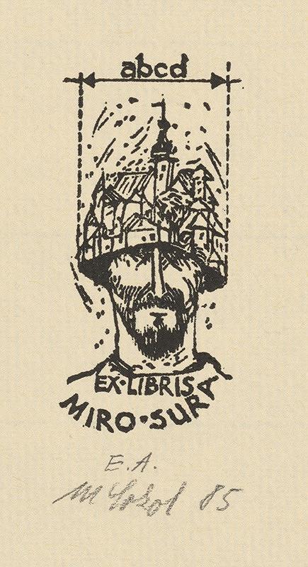 Milan Sokol - Ex libris M .Sura