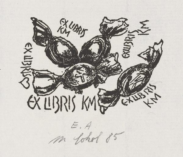 Milan Sokol - Ex libris Katka M.
