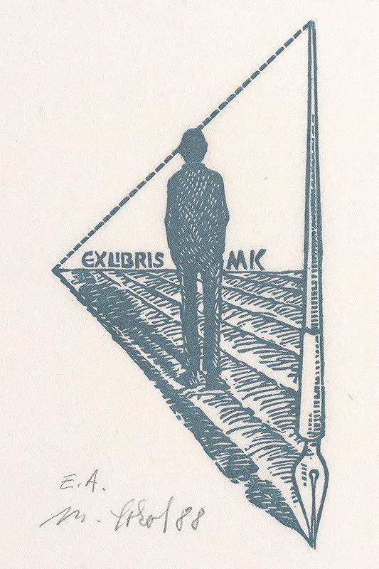 Milan Sokol – Ex libris M.Kováč