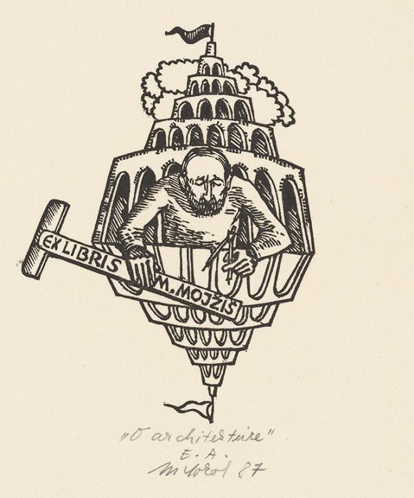 Milan Sokol - Ex libris M.Mojžiš