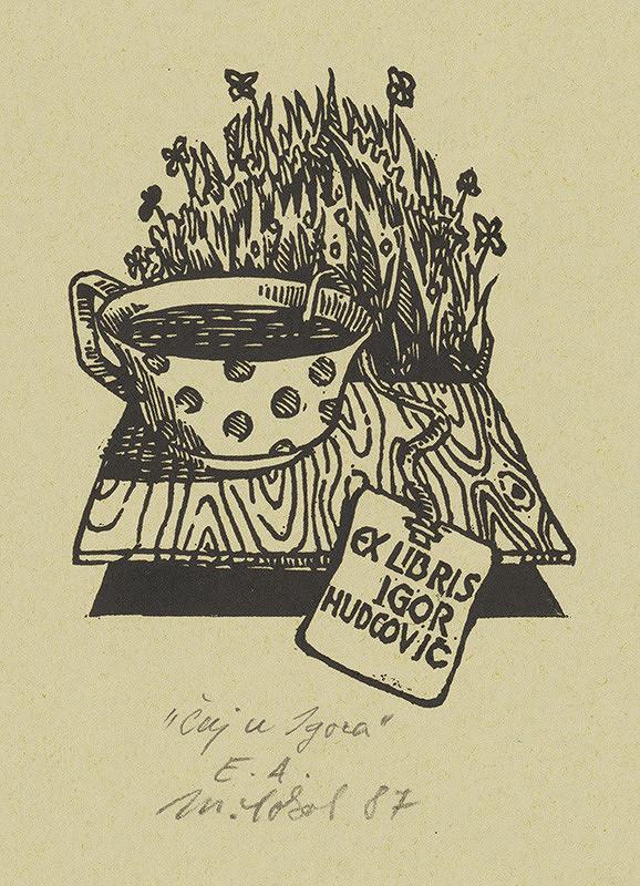 Milan Sokol – Ex libris I.Hudcovič
