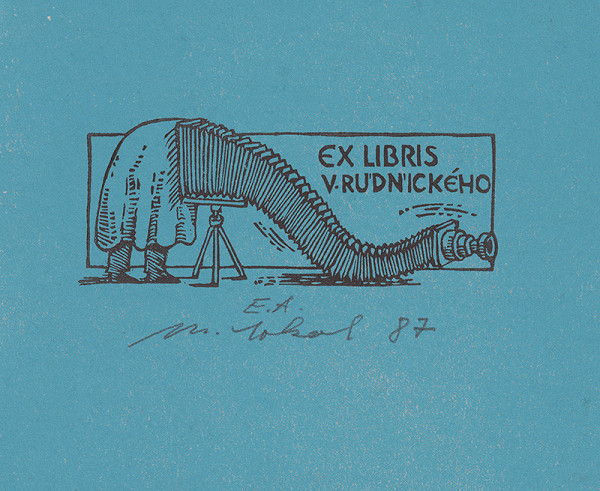Milan Sokol – Ex libris V.Rudnický