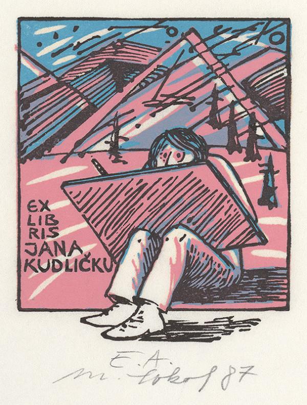 Milan Sokol – Ex libris Jána Kudličku