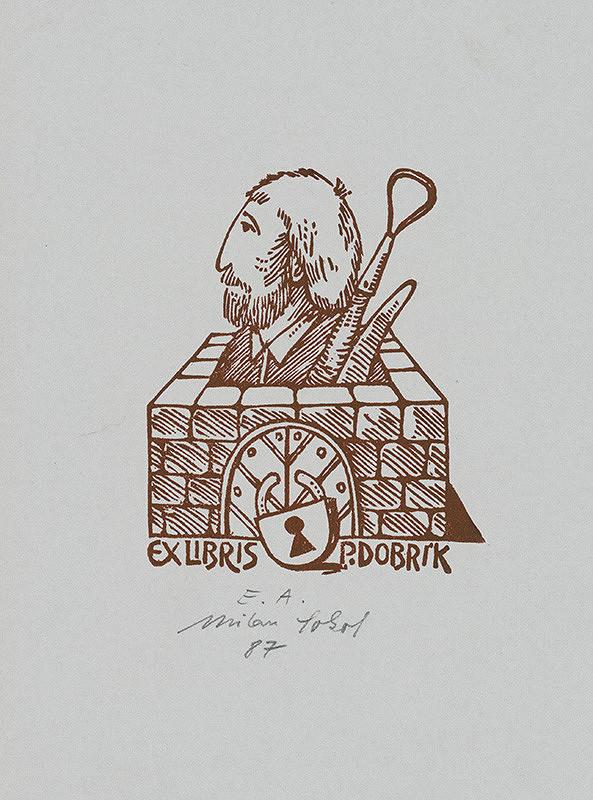 Milan Sokol – Ex libris P.Dobrík
