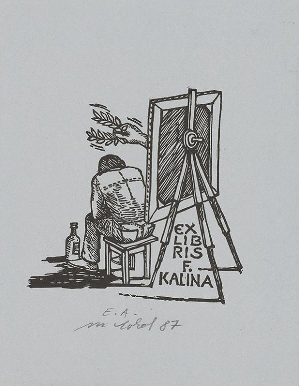 Milan Sokol – Ex libris F.Kalina