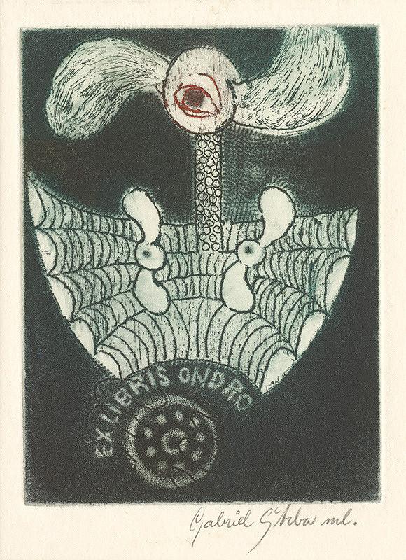 Gabriel Štrba ml. - Ex libris Ondro
