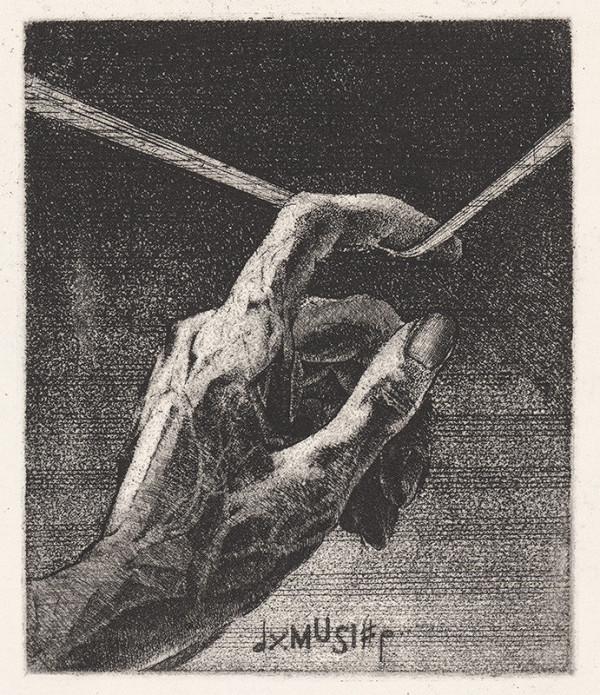 Júlia Buková - Ex libris Lugane