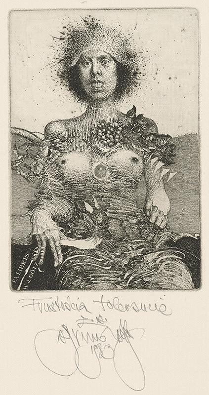 Albín Brunovský - Ex libris W.J.Götz