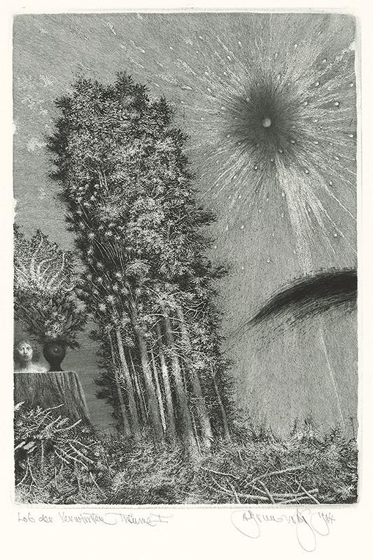 Albín Brunovský – Chvála zamotaných snov I., 1984, Stredoslovenská galéria