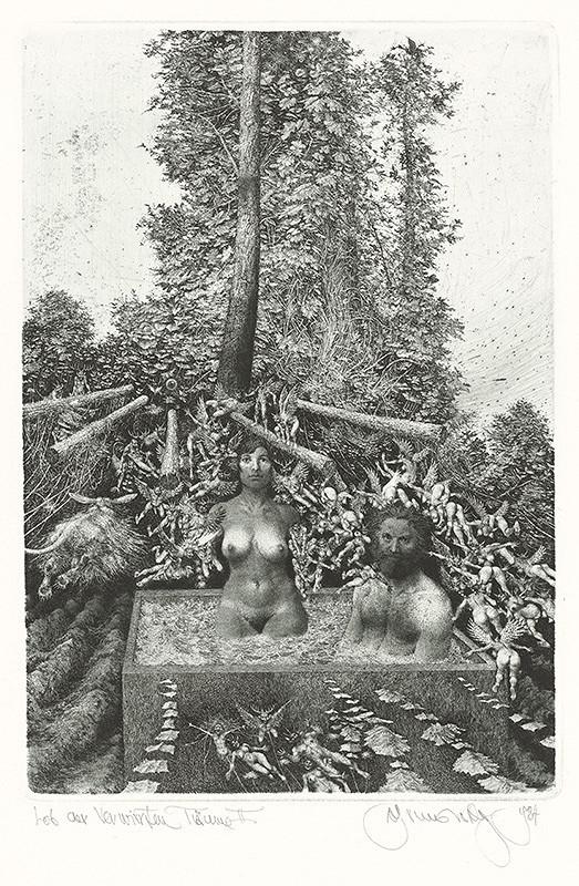 Albín Brunovský – Chvála zamotaných snov II., 1984, Stredoslovenská galéria