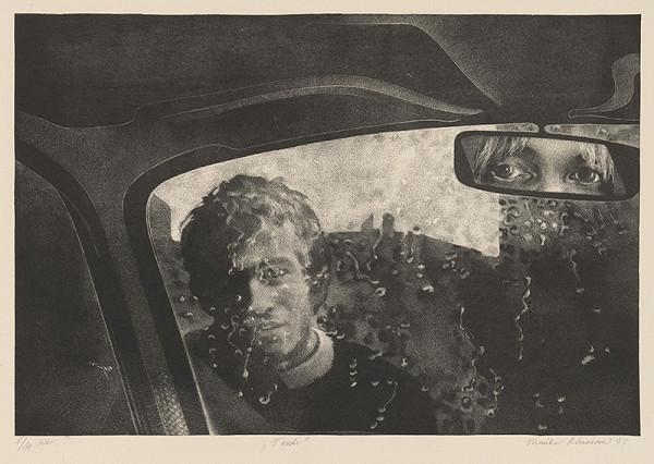 Veronika Rónaiová – V aute