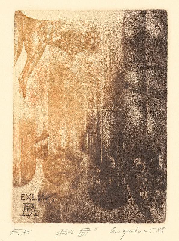 Peter Augustovič - Ex libris A.Dürer