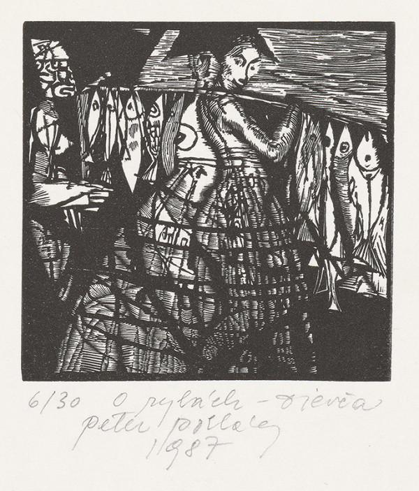 Peter Pollág – O rybách-Dievča