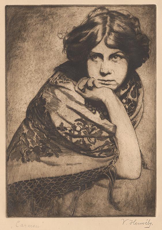 Viktor Hermély – Carmen, 1920 – 1920