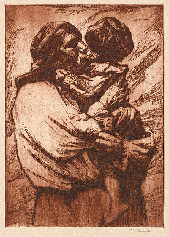 Viktor Hermély – Matka s dieťaťom