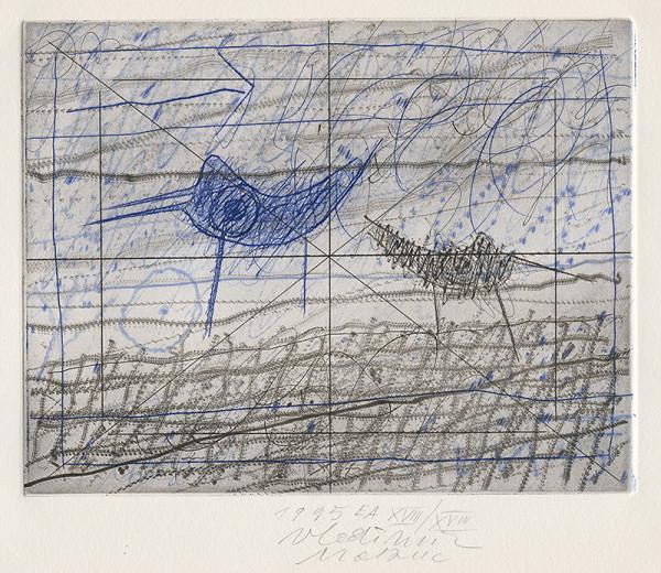Vladimir Makuc – Landscape With Birds
