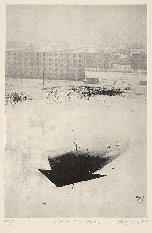 Rudolf Sikora - Z mesta von I [detail]