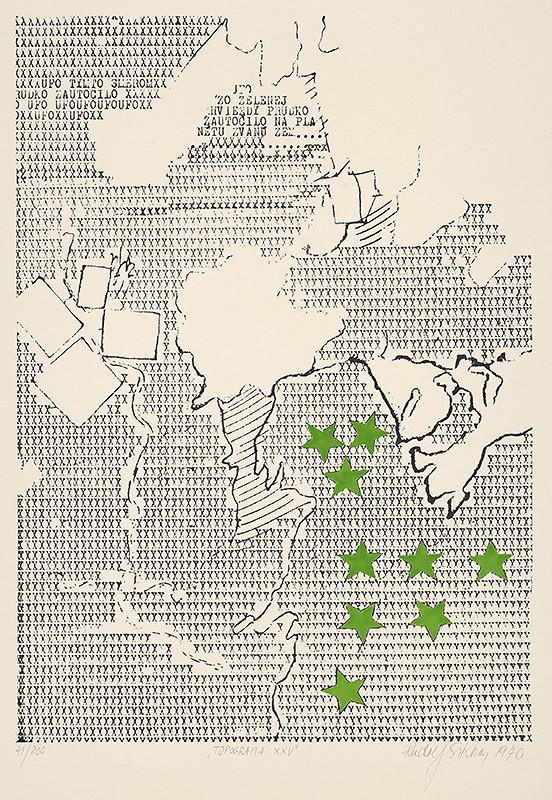 Rudolf Sikora - Topografia XXV