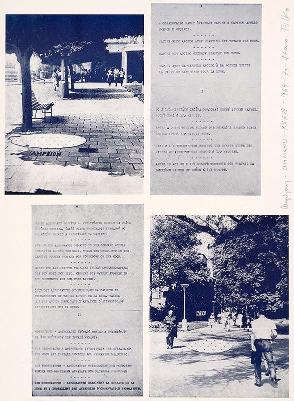 Stanislav Filko - 4. dimenzia - Kozmológia Modrá čakra - Filko 1969-70
