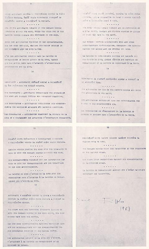 Stanislav Filko - 4. dimenzia - Kozmológia Modrá čakra - Filko 1969