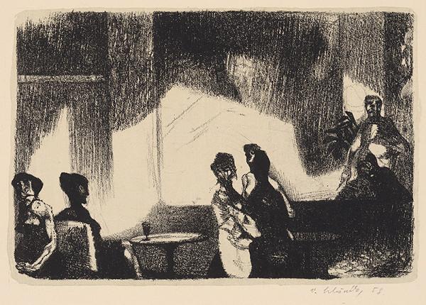 Vincent Hložník – Čierna kaviareň I