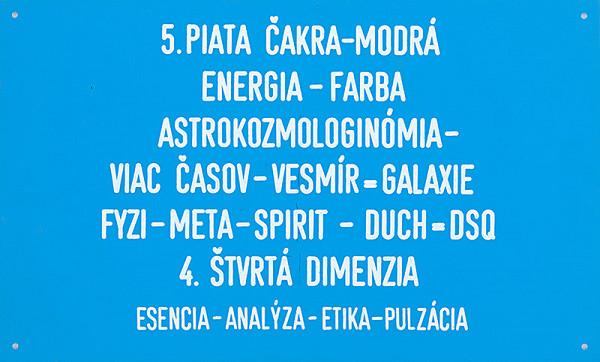 Stanislav Filko - 5. PIATA ČAKRA – MODRÁ