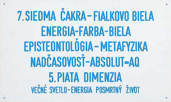 Stanislav Filko - 7. SIEDMA ČAKRA  FIALKOVO BIELA