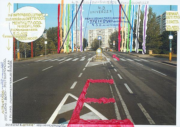 Stanislav Filko - RETROOQS.F. (projeketart k projektu 12 farieb skutočnosti – RETRQ = HAPPSOCSF, Bratislava, Petržalka)