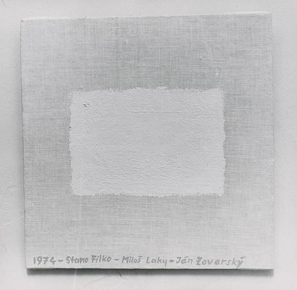 Stanislav Filko, Miloš Laky, Ján Zavarský – Bez uvedenia názvu (WHITE SPACE IN WHITE SPACE)