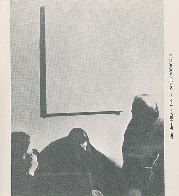 Stanislav Filko – STANISLAW FILKO: TRANSCENDENCJA (vyd. Mala Galeria, Warszawa)