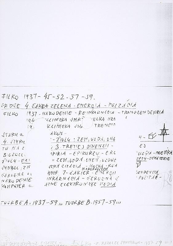 Stanislav Filko - 5. DIMENZIA – 5. ČITATEĽ – FILKO – 5. PARALEL SYNCHRON – 1937 – 59 = (časť názvu