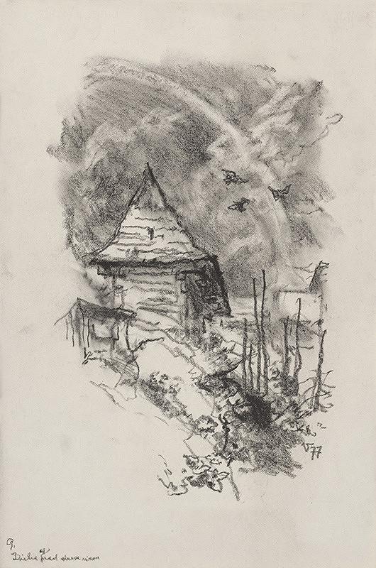 Jaroslav Vodrážka – Dúha nad drevenicou