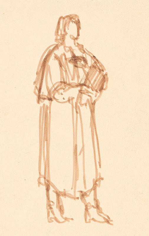 Rudolf Pribiš – Žena