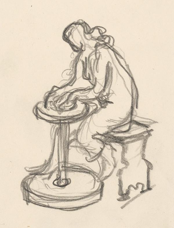 Rudolf Pribiš – Pri hrnčiarskom kruhu