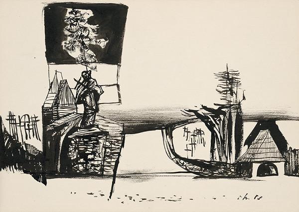Vincent Hložník - Kresba XVI.