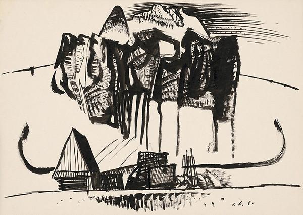 Vincent Hložník – Kresba XIX.