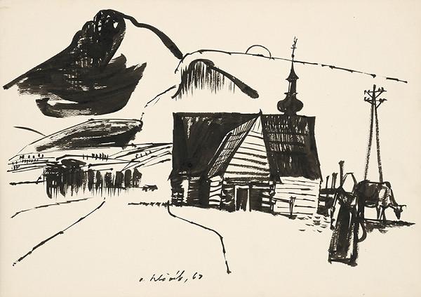 Vincent Hložník - Kresba XXII.