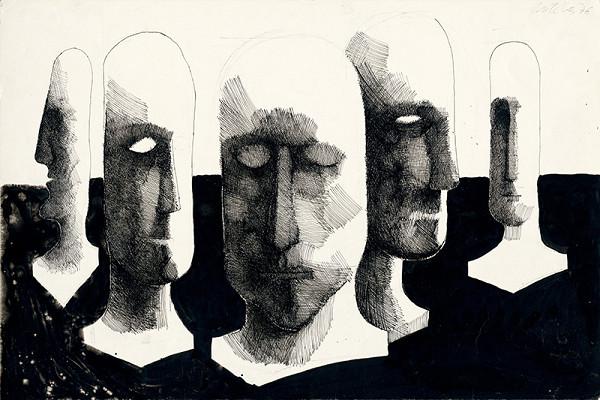 Milan Paštéka - Hlavy