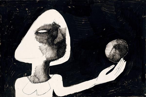 Milan Paštéka - Dievča s jablkom