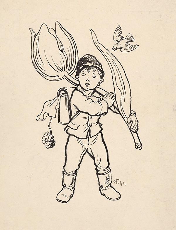 Jaroslav Vodrážka - Emblém edície Tulipánik